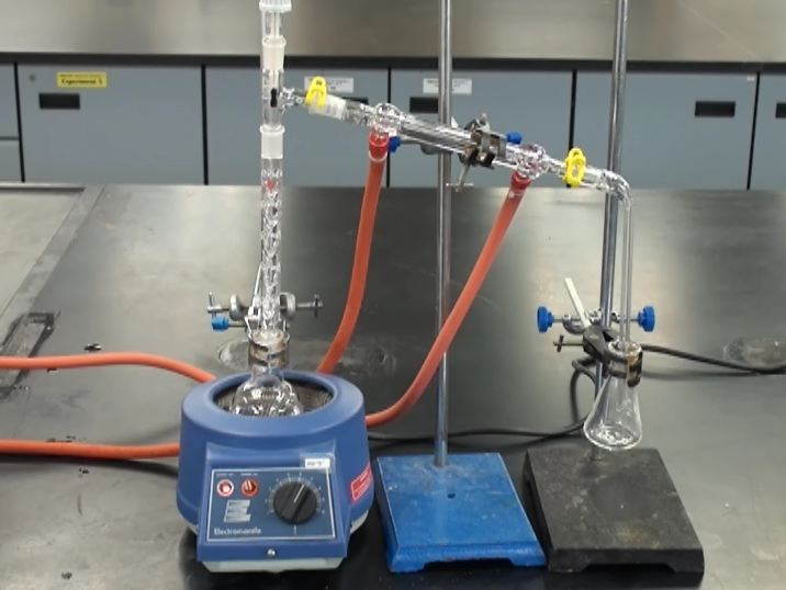 simple distillation gas chromatography preparation of A simple simultaneous distillation and solvent extraction (ssde) method was   for sample preparation of the gas chromatography-mass spectrometry (gc-ms).